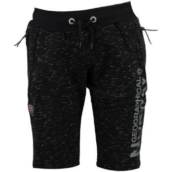Vêtements Homme Shorts / Bermudas Geographical Norway Bermuda Homme Pantaga Noir