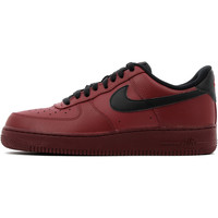 Chaussures Homme Baskets basses Nike Air Force 1 07 Team Red / Black