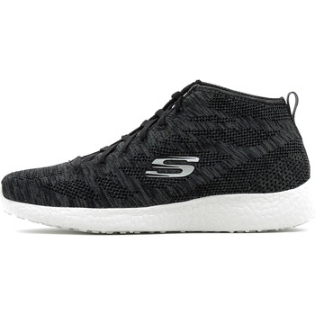 Chaussures Femme Baskets montantes Skechers Burst Divergent Black / White