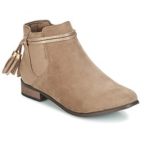 Chaussures Femme Boots Moony Mood HATHA Taupe