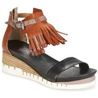 Chaussures Femme Sandales et Nu-pieds Airstep / A.S.98 YVES Marron / Noir