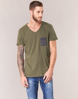 Vêtements Homme T-shirts manches courtes Eleven Paris ABICO Kaki