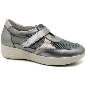 Chaussures Femme Mocassins Relax 4 You BS17704 gris