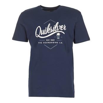 Vêtements Homme T-shirts manches courtes Quiksilver CLATESEATALES Marine