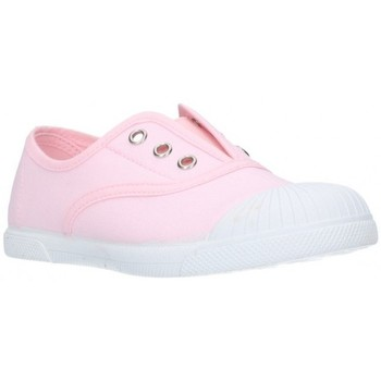 Chaussures Fille Baskets basses Batilas 87701 rose