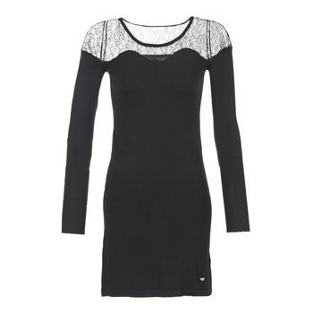Vêtements Femme Robes courtes Les P'tites Bombes DARTO Noir