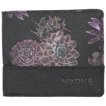 Sacs Portefeuilles Nixon Portefeuille  Atlas Showdown Nylon Bi-Fold - Black / Anthracite Noir