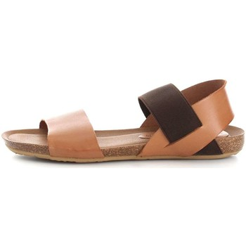 Chaussures Femme Sandales et Nu-pieds Vita Unica 101 Sandales Femme Leather/Brown Leather/Brown
