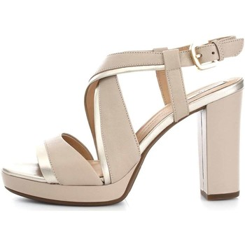 Chaussures Femme Sandales et Nu-pieds Geox D724LD85NF  Femme Taupe Taupe