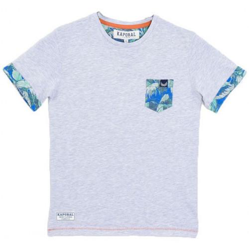 Vêtements Garçon T-shirts manches courtes Kaporal T-Shirt Garçon Mepi Gris Gris