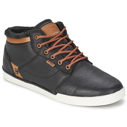Chaussures Homme Baskets montantes Etnies JEFFERSON MID Black / Brown