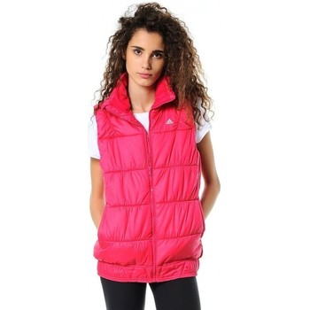 Vêtements Femme Doudounes adidas Originals J P LT Vest Rose
