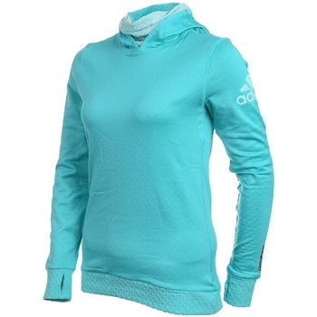 Vêtements Femme Pulls adidas Originals Z Hoody Climaheat Turquoise