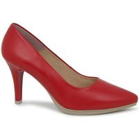 Chaussures Femme Escarpins Chamby 4350 Rouge Rouge