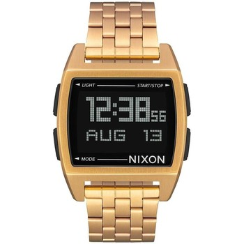 Montres & Bijoux Montres Digitales Nixon RELOJ  BASE ALL DORADO UNISEX Or