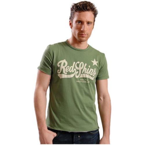Vêtements Homme T-shirts manches courtes Redskins T-Shirt  Kilburn Vert