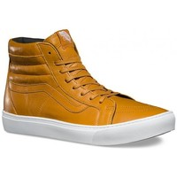 Chaussures Homme Baskets montantes Vans Chaussures  U Sk8-Hi Cup Leather - Gold Jaune