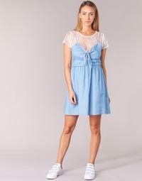 Vêtements Femme Robes courtes Moony Mood GLAM Bleu
