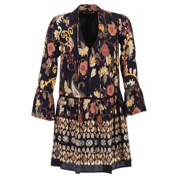 Vêtements Femme Robes courtes Derhy DEGUSTATION Noir / Multicolore