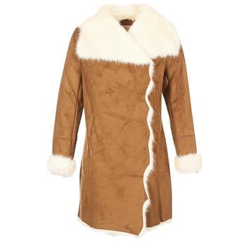 Vêtements Femme Manteaux Derhy RADEAU Camel