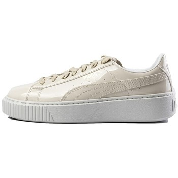 Chaussures Femme Baskets basses Puma France PLATFORM Beige