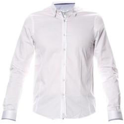 Vêtements Homme Chemises manches longues Joe Retro CHEMISE HOMME Manches Longues  SELYA Blanc 1