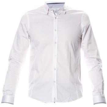 Vêtements Homme Chemises manches longues Joe Retro CHEMISE HOMME Manches Longues  SELYA Blanc