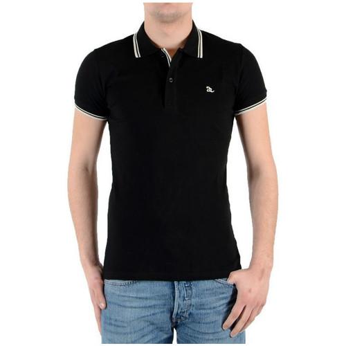 Vêtements Homme Polos manches courtes Joe Retro Polo  LESS Noir