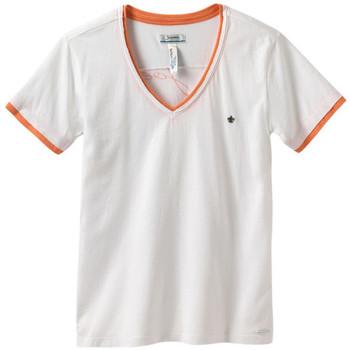 Vêtements Homme T-shirts manches courtes Joe Retro T-SHIRT  TEDDY BLANC