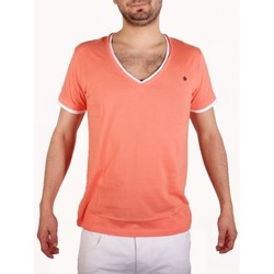 Vêtements Homme T-shirts manches courtes Joe Retro T-Shirt  Teddy Corail 38