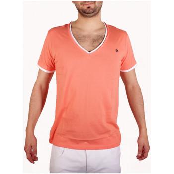 Vêtements Homme T-shirts manches courtes Joe Retro T-Shirt  Teddy Corail