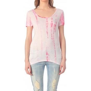 T-shirts manches courtes Vero Moda T SHIRT DIANA S/S TOP EX4 ROSE