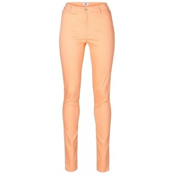 Vêtements Femme Jeans slim Vero Moda PAPAYA Wonder Color Denim Jegging-mix 10074142 Orange