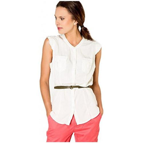 Vêtements Femme Tuniques Kaporal Tunique Femme Kenzy Blanc