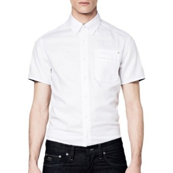 Chemise G-Star raw chemise manches courtes rupert moore blanc
