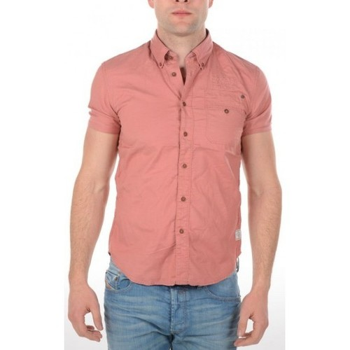 Vêtements Homme Chemises manches courtes G-Star Raw Chemise  Manches Courtes Rupert Moore Rose