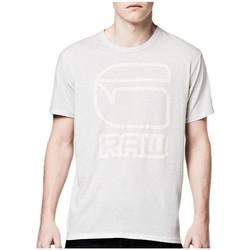 Vêtements Homme T-shirts manches courtes G-Star Raw T-Shirt  RCT charge White htr Blanc cassé