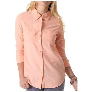 Vêtements Femme Chemises / Chemisiers Vero Moda Chemise Fiona Papaya Punch 10093708