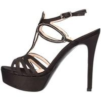 Chaussures Femme Sandales et Nu-pieds Pedro Rodriguez 3010 Sandale élégante Femme noir noir