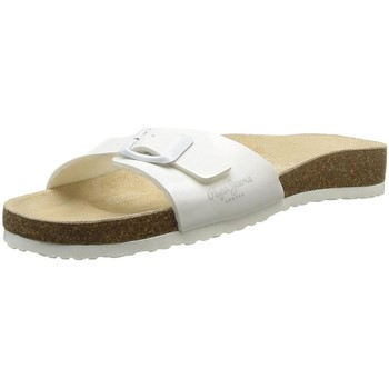 Chaussures Femme Mules Pepe jeans pls90024 blanc
