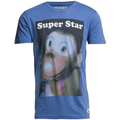 Vêtements Homme T-shirts manches courtes Jack & Jones T-Shirt  Bright Cobalt