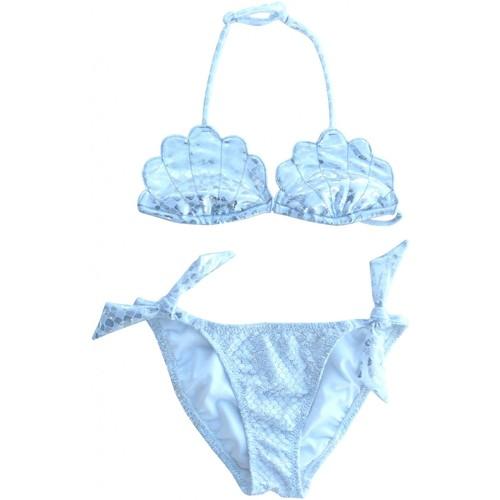 8c029e9350 Vêtements Fille Maillots de bain 2 pièces Princesse Ilou Maillot de bain 2  pièces MERMAID Argent