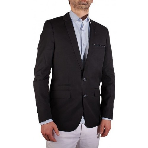 Vêtements Homme Vestes / Blazers Joe Retro BLAZER  JAMER Bleu Marine