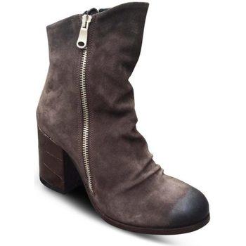 Chaussures Femme Sandales et Nu-pieds Les Tropéziennes par M Belarbi Sandale Plate MONACO Or/Serpent Les Tropéziennes Doré