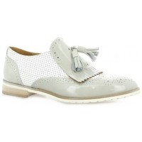 Chaussures Femme Derbies Red Creatyve Mocassins cuir vernis Blanc