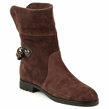 Chaussures Femme Boots Marc Jacobs CHAIN BOOTS Marron