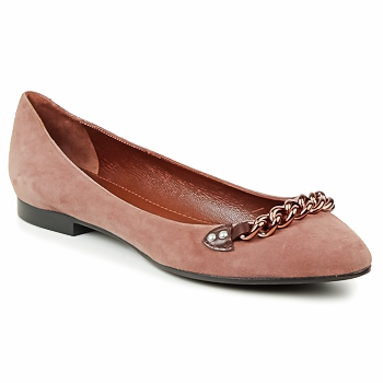 Chaussures Femme Ballerines / babies Marc Jacobs CHAIN BABIES Marron