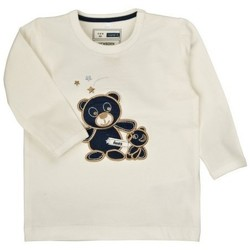 Vêtements Garçon T-shirts & Polos Name It Kids T-SHIRT  ORSON Blanc cassé