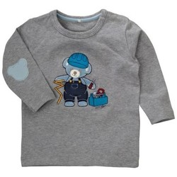 Vêtements Garçon T-shirts & Polos Name It Kids T-SHIRT  NICK GRIS Noir