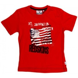 Vêtements Garçon T-shirts manches courtes Redskins T-SHIRT  BARBLA ROUGE